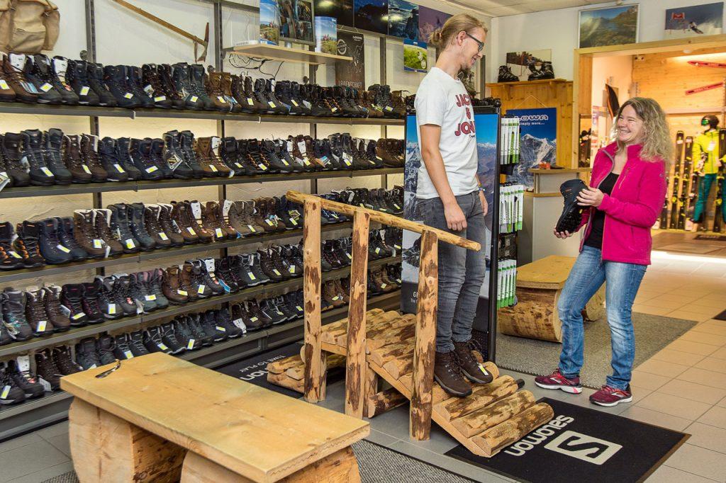 Wandersport Schuhberatung und Service
